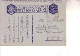 """F M  -- Posta Militare Nr 403 --30  3 1941--(Albania)- 59° R.G. """"""""Cagliari"""""""" - 1900-44 Vittorio Emanuele III"""