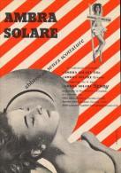 # AMBRA SOLARE  OLIO SPRAY MILK 1950s Advert Pubblicità Publicitè Reklame Suntan Oil Bronzage Creme Solaire Protector - Non Classificati