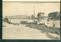 Les Bords De La Seine Au Pont De Conflans  - Dav163 - Conflans Saint Honorine