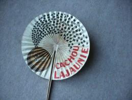 Rare  --  Ancien  Eventail -  CACHOU  LAJAUNIE - Pharmacien - Toulouse - Collection - Autres