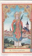 San Dionysius, Con Preghiera Al Retro - Andachtsbilder