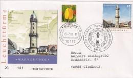 2008  Deutschland Allem. Fed. Yv. 2502-3  Mi.2677-8 FDC Warnemünde Amrum - BRD