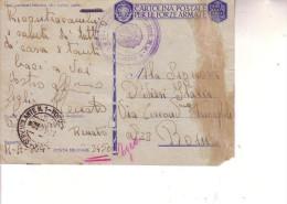 F M  -- Posta Militare 550 Servizio Volante N 1(Rodi) --4  9 1943 -- R.Aeroporto 804 -- - 1900-44 Vittorio Emanuele III
