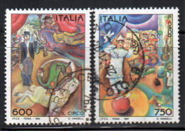 ITALIA    1994  IL CIRCO  Usati / Used - 6. 1946-.. República