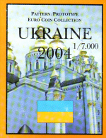 UCRANIA  EUROS PRUEBA  AÑO 2004 - EURO