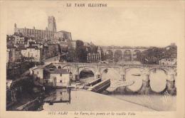 France Albi Le Tarn les ponts et la vieille Ville
