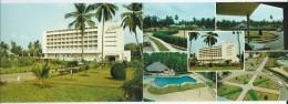 Afrique > TOGO Lomé Hôtel LE BENIN  Sa Piscine Et Ses Jardins (carte Double Format Plié =  Format 15 X 10.5 )*PRIX FIXE - Togo