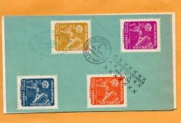 Cuba 1955 FDC - FDC