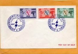 Cambodia 1965 FDC - Cambodia