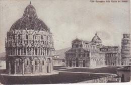PC Pisa - Panorama Della Piazza Del Duomo - 1912 (1599) - Pisa