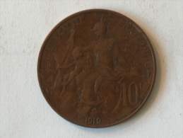 FRANCE 10 Centimes 1912 - France