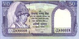 NEPAL   50 Rupees  Emission De 2002   Pick 48 B         ***** BILLET  NEUF ***** - Népal