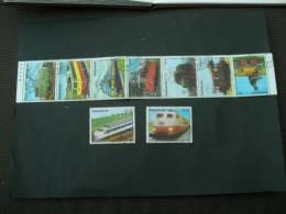 BG892-  Set  Used Paraguay Trains- Locomotives - Treinen