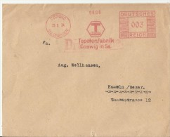 =DE 1934 SST COSWIG - Deutschland