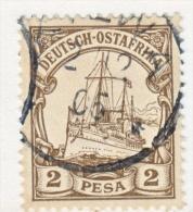 Germany East Africa 11  (o)  No Wmk. - Colony: German East Africa