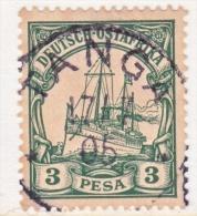Germany East Africa 12  (o)  No Wmk.  TANGA  Type  I   Cd. - Colony: German East Africa