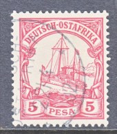 Germany East Africa 13  (o)   No Wmk. - Colony: German East Africa