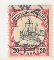 Germany East Africa 16  (o)   No Wmk.  KILWA  Type  I  Cd. - Colony: German East Africa