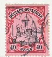 Germany East Africa 18  (o)   No Wmk.  TANGA  Type  I  Cd. - Colony: German East Africa