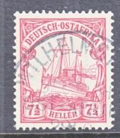 Germany East Africa 24  (o)   No Wmk.  WILHELMSTHAL  DOA  Cd. - Colony: German East Africa