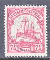Germany East Africa 24  (o)   No Wmk.  TANGA  Type  II  DOA  Cd. - Colony: German East Africa