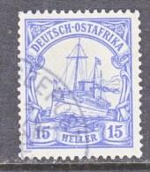 Germany East Africa 25  (o)   No Wmk.  SEEPOST  Cd. - Colony: German East Africa