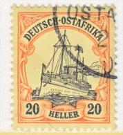 Germany East Africa 26  (o)   No Wmk. - Colony: German East Africa