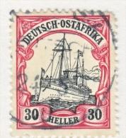 Germany East Africa 27  (o)   No Wmk. - Colony: German East Africa
