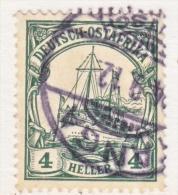 Germany East Africa 32  (o)   Wmk.  TANGA  Type  II  Cd. - Colony: German East Africa