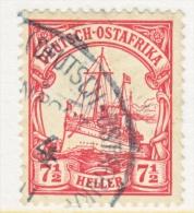 Germany East Africa 33  (o)   Wmk.  BAHNPOST  ZUG 4  Cd. - Colony: German East Africa