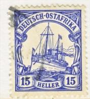 Germany East Africa 34  (o)   Wmk. - Colony: German East Africa