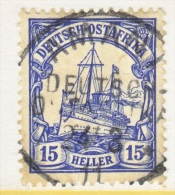 Germany East Africa 34  (o)   Wmk.  AMANI  Cd. - Colony: German East Africa