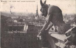 75 PARIS - Vue Prise Des Tours De Notre-Dame - Altri Monumenti, Edifici