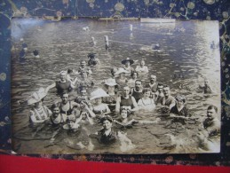 Abbazia-Opatija-photo Postcard-bathing-1911  (2482) - Croatia