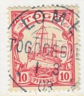 Togo 9  (o)  LOME Type I Cd. - Colony: Togo