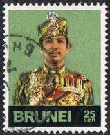 Brunei SG250 1975 Definitive 25c Good/fine Used - Brunei (...-1984)