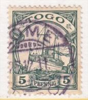 TOGO  8  (o)  No Wmk.  LOME  Cd. - Colony: Togo