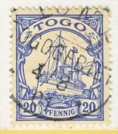 TOGO  10  (o)  No Wmk.  LOME  Cd. - Colony: Togo