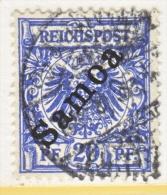 Germany Samoa 54  (o) - Colony: Samoa