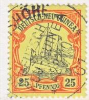Germany  New Guinea  11   (o)   HERBERTSHOHE   D N G  Cd. - Colonie: Nouvelle Guinée