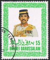 Brunei SG381 1986 Definitive $5 Good/fine Used - Brunei (...-1984)