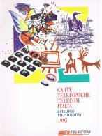TELECOM ITALIA  -  CATALOGO RIEPILOGATIVO NUOVE EMISSIONI SCHEDE TELEFONICHE 1995  (PAGINE 24) - Schede Telefoniche