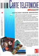 TELECOM ITALIA  -  CATALOGO N. 3 NUOVE EMISSIONI SCHEDE TELEFONICHE 1994   (PAGINE 12) - Schede Telefoniche