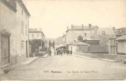 15 - MASSIAC - Cantal - Route De Saint-Flour - France