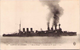 """Marine De Guerre - """"Ernest-Renan"""" - Croiseur De 1ère Classe - Warships"""