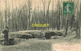 Dépt 95, Cp Pionnière, Forêt De Carnelle, Pierre Turquaise Ou Turquoise, Affranchie 1908 - France