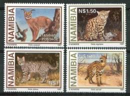 1997 Namibia Fauna Animali Animals Animaux Felini Cats FèlinSet MNH** B534 - Namibia (1990- ...)