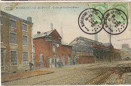 Marchienne Au Pont Charleroi Usine De La Providence Timb. 1911 Edit F. Callac - Charleroi