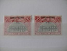 "Ruanda-Urundi 1925 ** MNH cob 77/78   "" Campagnes Coloniales "" cat:  2,00 Euro"
