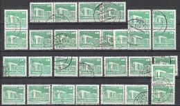 DDR 1973 1980 Mi 1868 2484 Insgesamt 28x Gestempelt (undurchsucht Nach Unternummern) Y&T 2146 - DDR